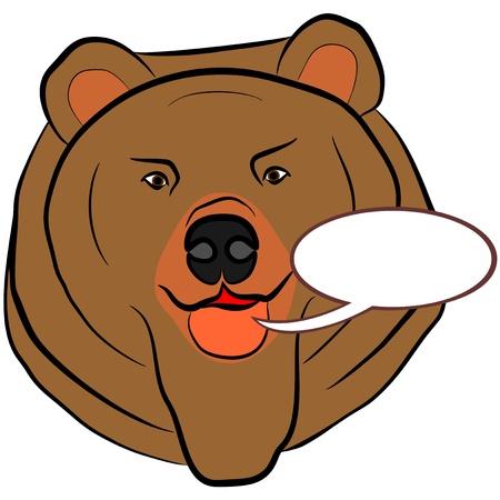 An illustration of Bear