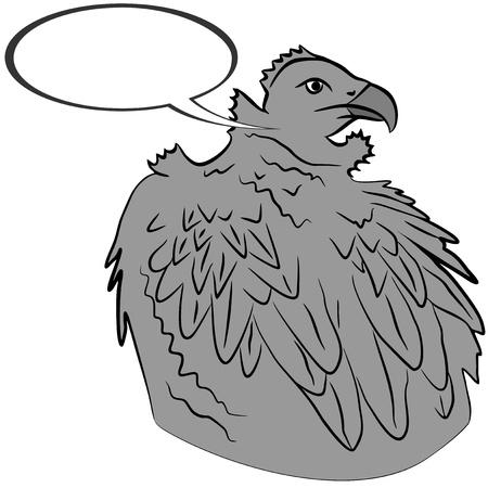 독수리의 그림 일러스트