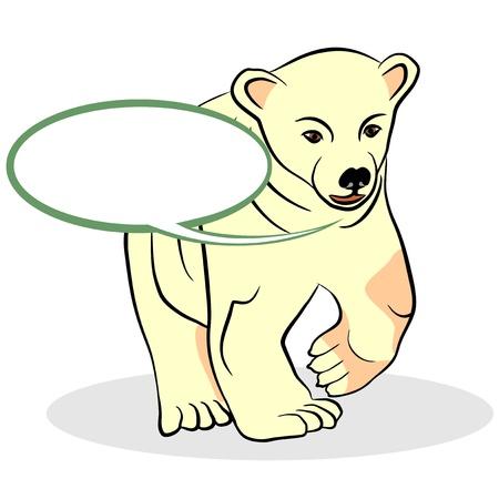 An illustration of Bear  Illustration