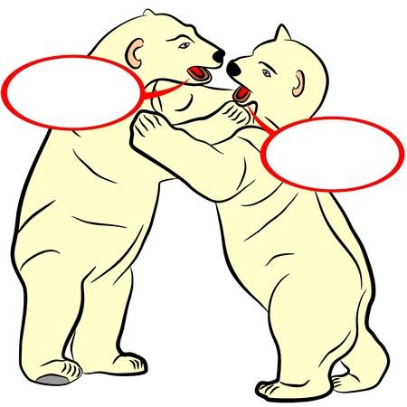 An illustration of Bears  Illustration