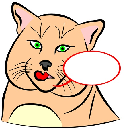 An illustration of Domestic Cat