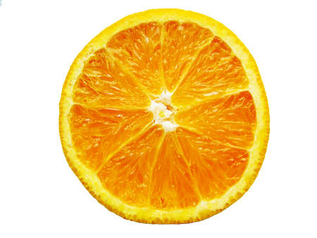 half cut: Half Cut Orange