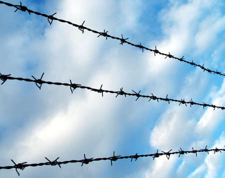 Barbed Wire Stock Photo - 358264