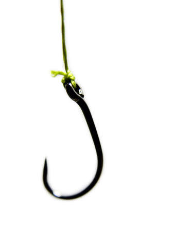 Single Fishing Hook Stock Photo - 358240