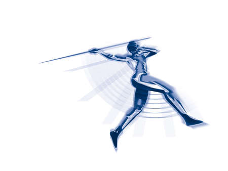 Javelin thrower Stock Photo - 358236