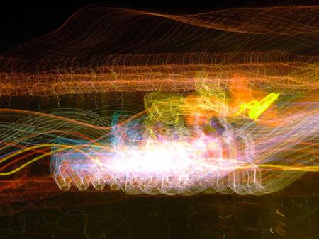 High speed lights photo