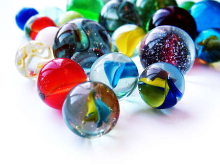 marbles: Glass Marbles Stock Photo