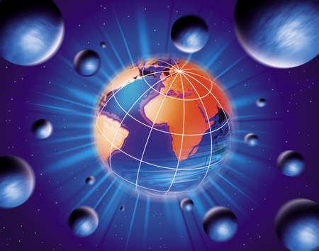 photographies: Globe Earth Stock Photo