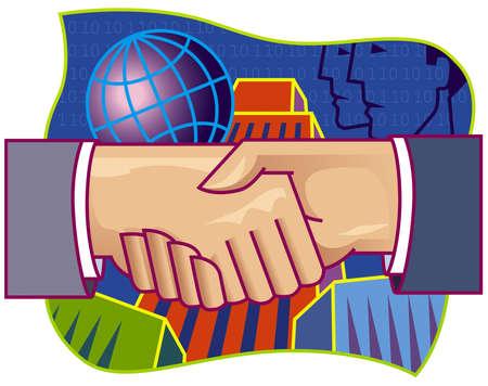 Partnership Hand shake