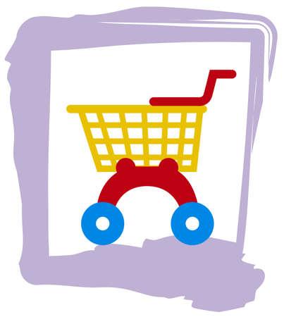 pretend: Toy Shopping Trolley