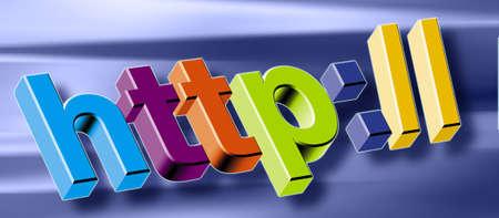 worldwideweb: http: Stock Photo