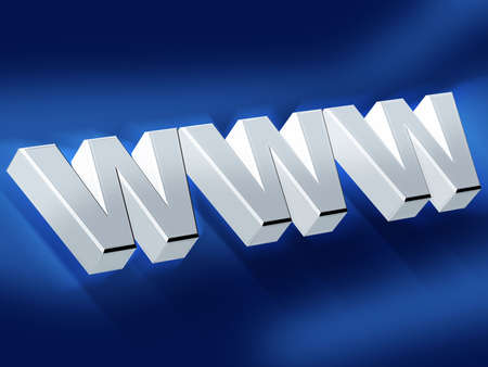 worldwideweb: www Stock Photo