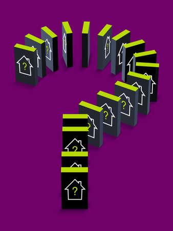 Housing Domino Effect photo