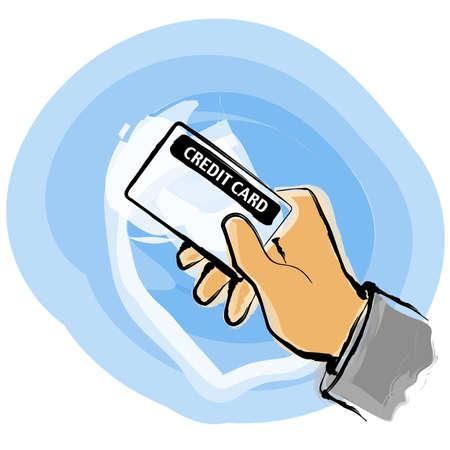 pay check: Credit card