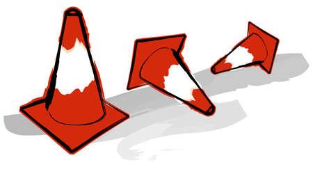 Traffic Cones Stock Photo - 362268