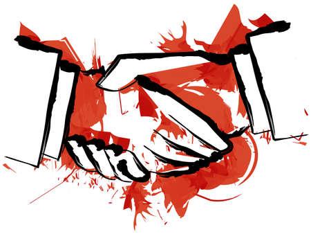 dictator: Bloody Hand Shake