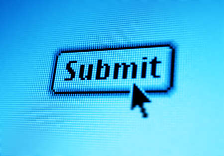 submit: Submit details online Stock Photo
