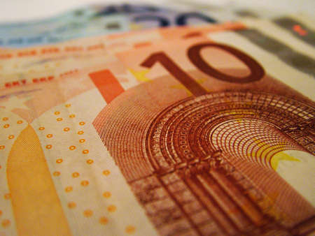 Euro Bank notes Stock Photo