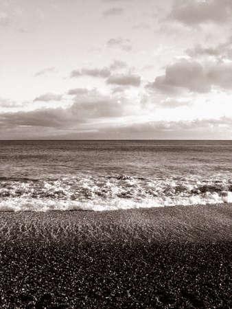 Beach life, sea, shells and holidays Stock Photo