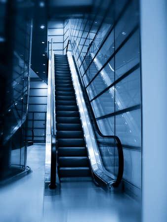 duotone: Duo-tone Escalator