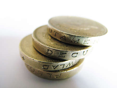 loot: Stacked Pound Coins
