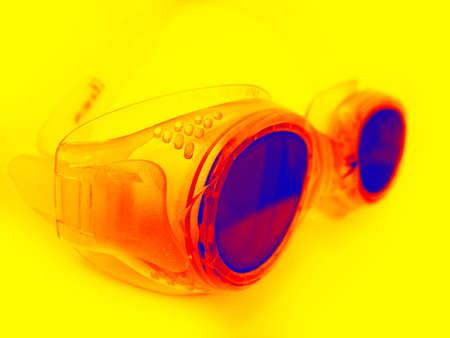 swimming goggles: Swimming goggles Stock Photo