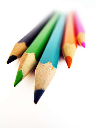sharpen: Crayons Stock Photo
