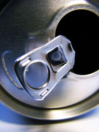 lata de refresco: Soda puede  Foto de archivo