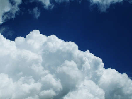 chirpy: cloud formations Stock Photo