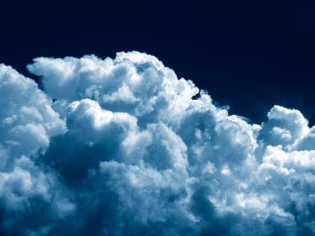 stock photo: Dramatic sky
