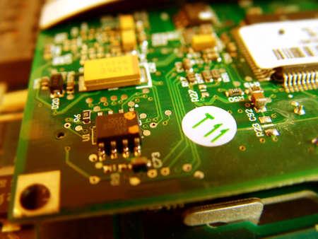 gigabytes: Circuit board