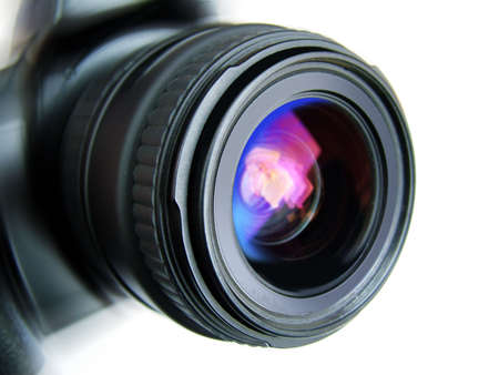 resolutions: camera lense Stock Photo