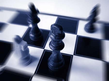teaser: Pezzi di scacchi