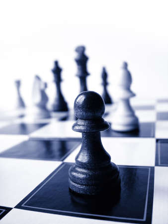 bishop chess piece: Chess Stock Photo