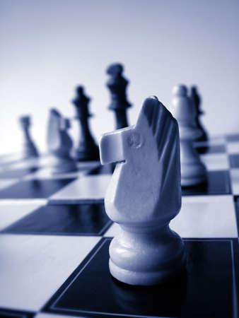 manoeuvre: Chess Stock Photo