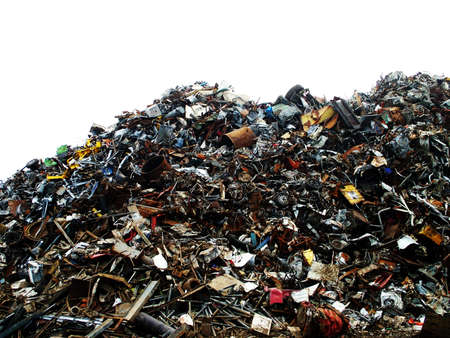 scrap heap: Rubbish tip
