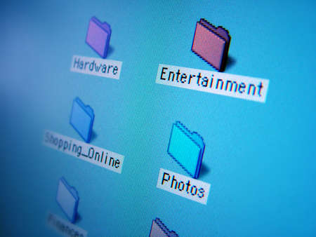 secure backup: file folders