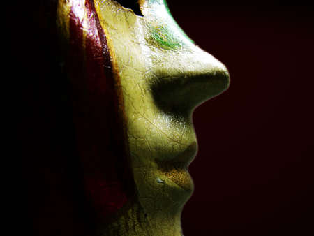 monster movie: Carnival Mask Stock Photo