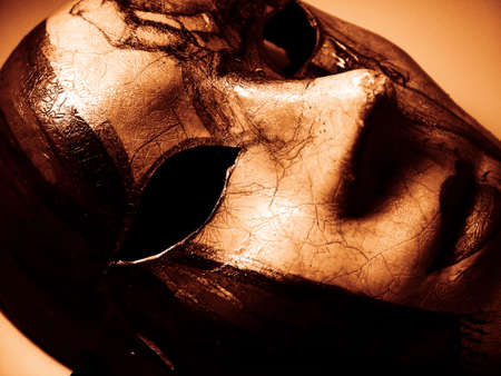 papoose: Carnival Mask Stock Photo