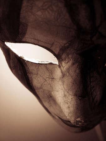 monster movie: Carnival Mask Stock Photo