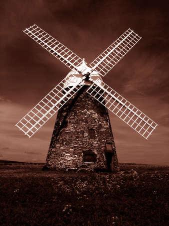 paesaggio industriale: Mulino a vento