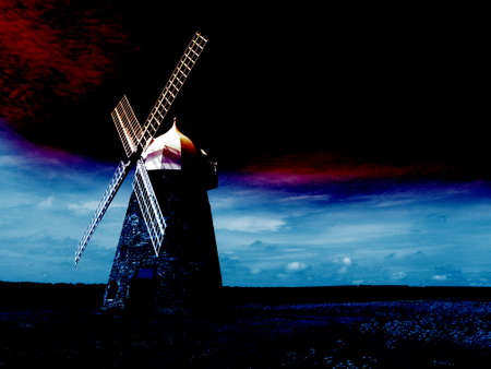 windmill Stock Photo - 371047
