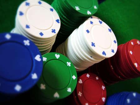 jetons poker: Poker Chips  Banque d'images