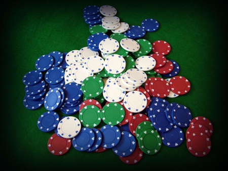 Cards Playing Cards Poker Chips