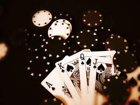 jetons poker: Jeu Des Morceaux De Tisonnier De Cartes Editeur