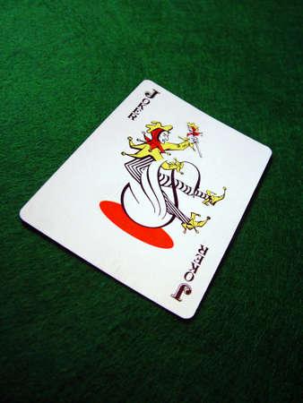 Spassvogel, die Karte Spielt