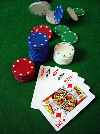 gambling counter: Playing Cards Poker Chips Editorial