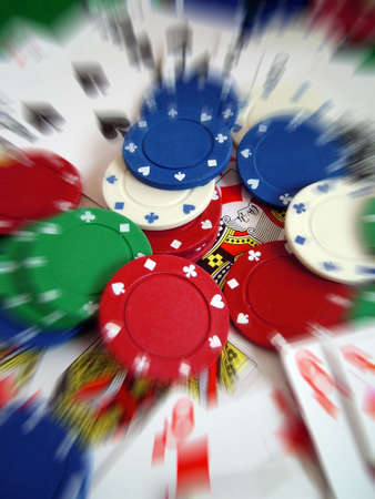 gambling counter: Cards Playing Cards Poker Chips