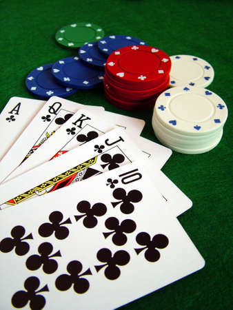 jetons poker: Cartes de cartes � jouer au poker chips