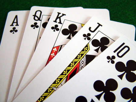 Cards Playing Cards Poker Chips photo